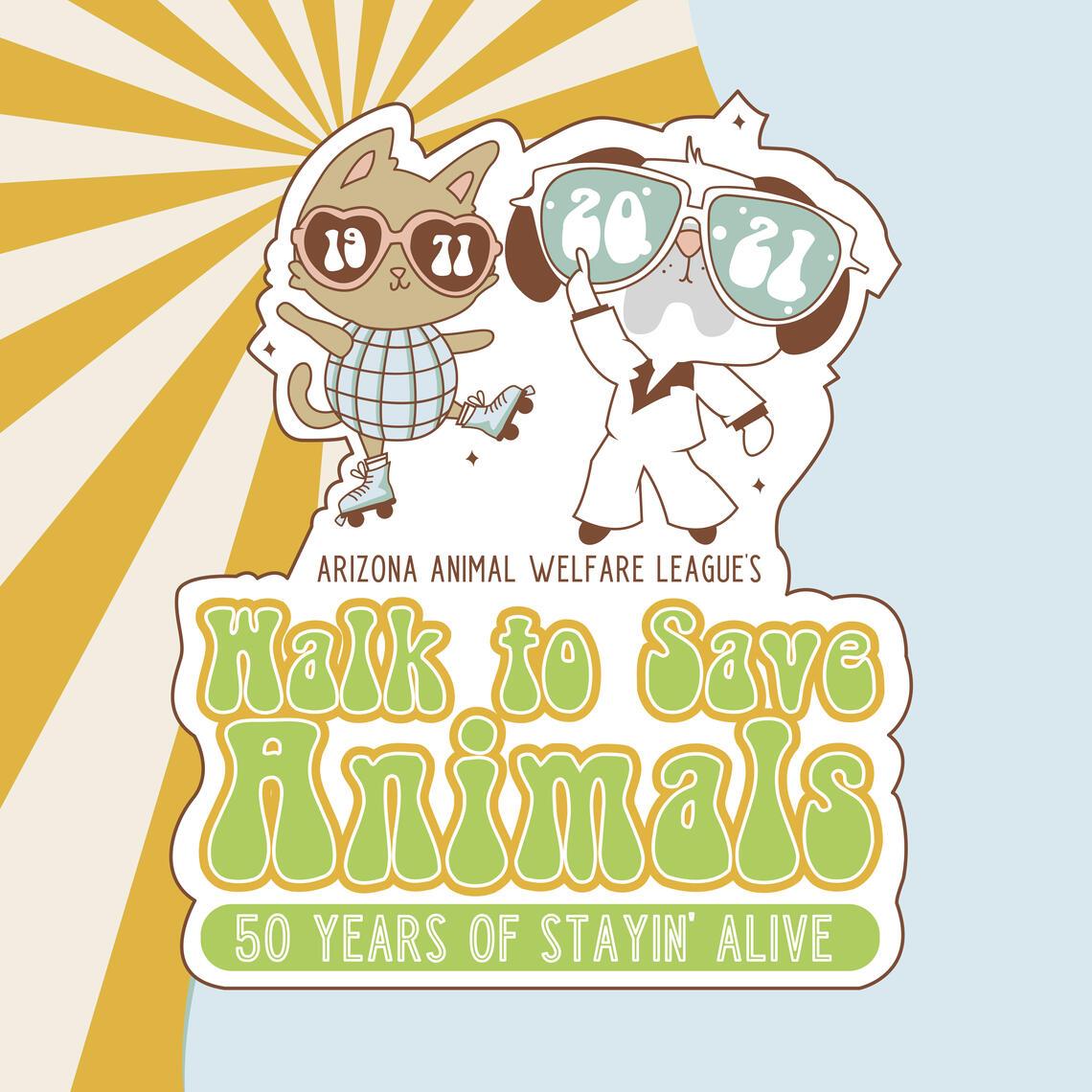 walk to save animals
